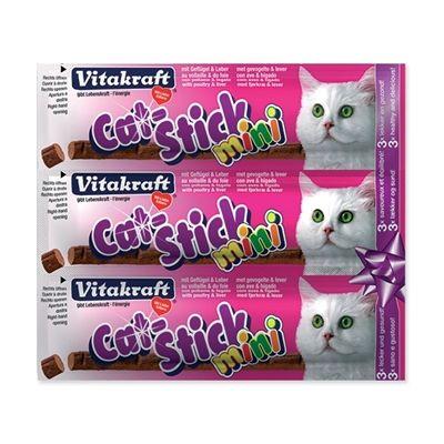 Cat Stick Mini VITAKRAFT Poultry + Liver 3 ks