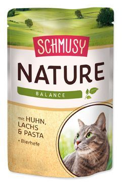 Schmusy Nature Menu kapsička - kuře & losos 100 g