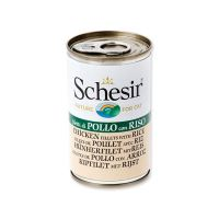 Konzerva SCHESIR Cat kuřecí + rýže 140 g