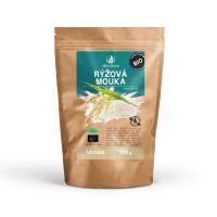 Allnature Rýžová mouka celozrnná bezlepková BIO 200 g