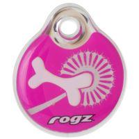 Známka ROGZ ID Pink Bone L