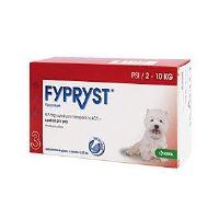 Fypryst Antiparazitní pipeta pro psy 2-10 kg 0,67 ml