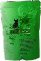 Catz Finefood No.23 Kapsička - hovězí & kachna pro kočky 85 g