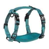 Alcott reflexní postroj pro psy, modrý, velikost L