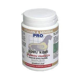 Fitmin Kosti - doplněk pro prevenci nedostatku vápníku u štěňat a březích fen v prášku