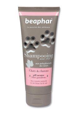 Beaphar šampon bez parabenů s hedvábnými proteiny pro kočky a koťata 250 ml