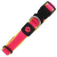 Obojek ACTIV DOG Fluffy Reflective růžový M 1ks