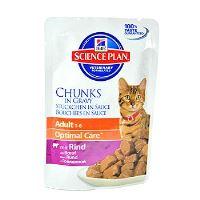 Hill's Feline kapsička Adult - Hovězí 85 g