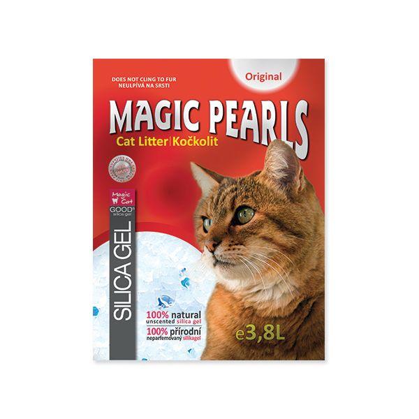 Kočkolit MAGIC PEARLS Original 3,8 l