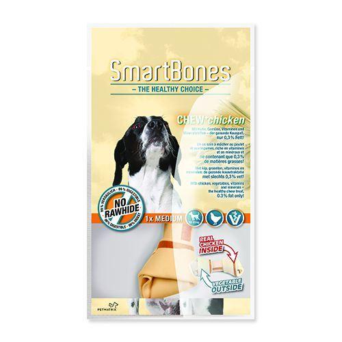 Hagen SmartBones Kuřecí žvýkací kost pro střední plemena psů, 14 cm