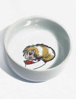 Trixie keramická miska pro psy motiv morče 300 ml 11 cm