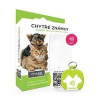 Tag4Pet Charm mini chytrá psí známka zelená