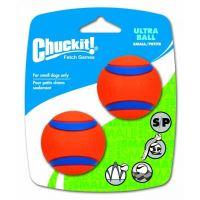 Chuckit! Ultra Ball gumové aportovací míčky - velikost S, 5 cm, 2 ks