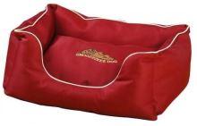 Snoozzzeee Pelech Xtreme sofa cherry, 81 cm + Zdarma Miska pro psa 400 ml