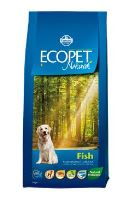 Ecopet Natural Adult Fish 12kg+2kg ZDARMA