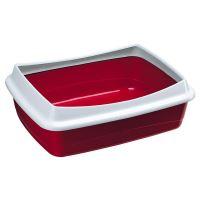 Ferplast Nip Plus Toaleta s rámem pro kočky, 47 x 36 x 15,5 cm