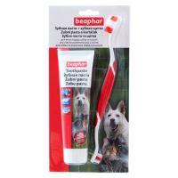 Beaphar zubní pasta + kartáček pro psy a kočky kombipack