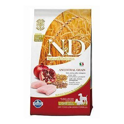 N&D Low Grain Dog Light S/M Chicken & Pomegranate