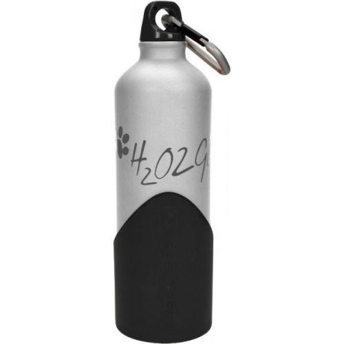 H2o2go Cestovní lahev na vodu stříbrná 750 ml