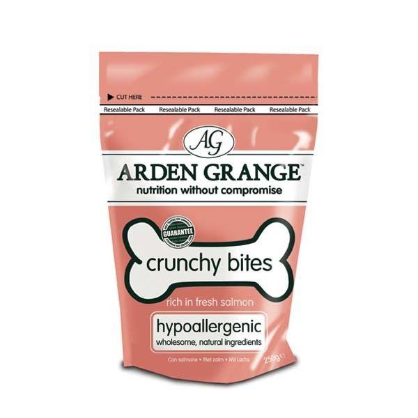 Arden Grange Crunchy Bites Salmon pochoutka 250 g