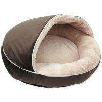 Pelíšek DOG FANTASY Comfy3 čokoládový 50 cm 1ks