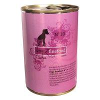 Dogz Finefood No.10 Konzerva - jehněčí pro psy 400 g