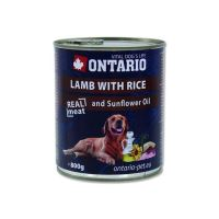 Ontario Lamb, Rice, Sunflower Oil konzerva 800 g