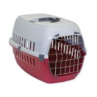 Přepravka DOG FANTASY Carrier červená 58 cm