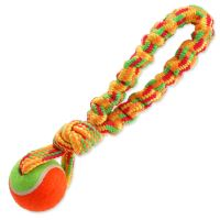 Přetahovadlo DOG FANTASY barevné + tenisák 28 cm