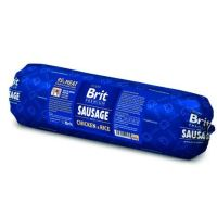 Brit Premium Sausage with Chicken & Rice 800 g