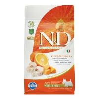 N&D GF Pumpkin DOG Adult Mini Codfish & Orange