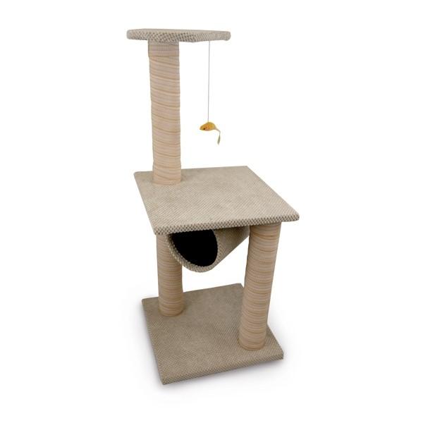 Škrabadlo pro kočky Argi - Lucy - béžové - 100 x 40 cm  d3e78daf09e