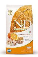 N&D Low Grain Cat Adult Codfish & Orange 300 g