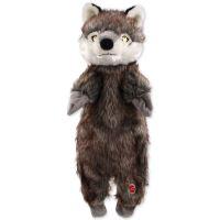 Dog Fantasy Skinneeez vlk plyšový 50 cm