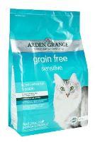 Arden Grange Cat Sensitiv Ocean Fish & Potato - mořské ryby & brambory pro kočky s citlivým trávením 2 kg