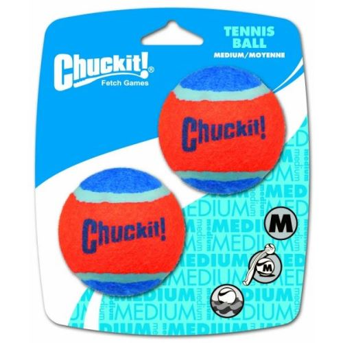 Chuckit! míčky tenisové oranžovo modré, 2 ks