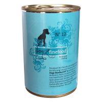 Dogz Finefood No.12 Konzerva - zvěřina & sleď pro psy 400 g