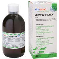 Aptus Apto-Flex Vet Sirup - pro regeneraci a výživu pohybového aparátu psů a koček, 500 ml