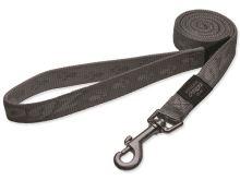Vodítko pro psa nylonové - Rogz Alpinist - stříbrné - 2 x 140 cm