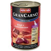 Animonda Gran Carno Senior Konzerva - kuře & krůtí srdce