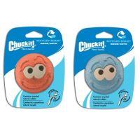 Chuckit! Remmy gumový aportovací míček s obličejem - velikost M, 6,5 cm