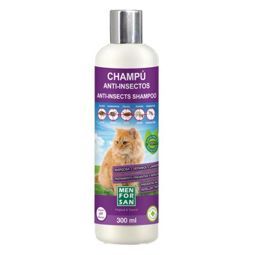 Menforsan Repelentní šampon s margózou pro kočky 300 ml
