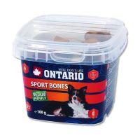 Ontario Snack Sport Bones - kostičky pro psy středních plemen 100 g