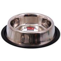 Miska DOG FANTASY nerezová s gumou 21 cm