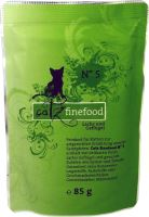 Catz Finefood No.5 Kapsička - losos & drůbež pro kočky 85 g