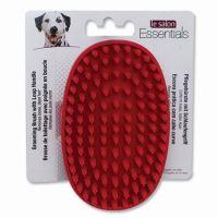 Le Salon Essentials Dog kartáč pro psy gumový dlaňový