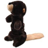 Hračka DOG FANTASY Skinneeez Plush pískací bobr 45 cm