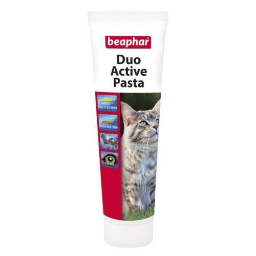 Beaphar Duo Active multivitaminová pasta na podporu trávení pro kočky 100 g
