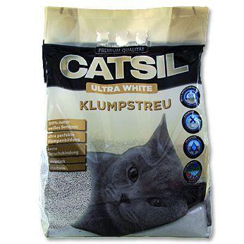CatSil hrudkující bentonitové stelivo 8 l