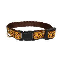 Obojek nylonový - vzor leopard - 1 x 20 - 32 cm